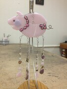 Pink Piggy Chrime (Sold)